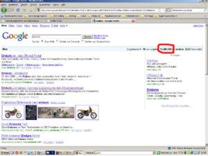 google-suche-enduro