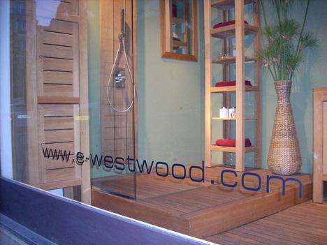 Holz im Bad